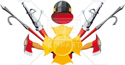 400x209 Emblem Of Firefighting Department