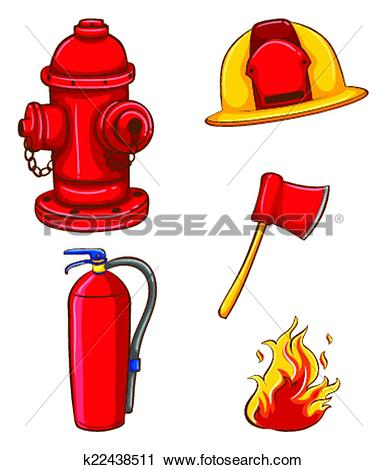 387x470 Firefighter Clipart Tool