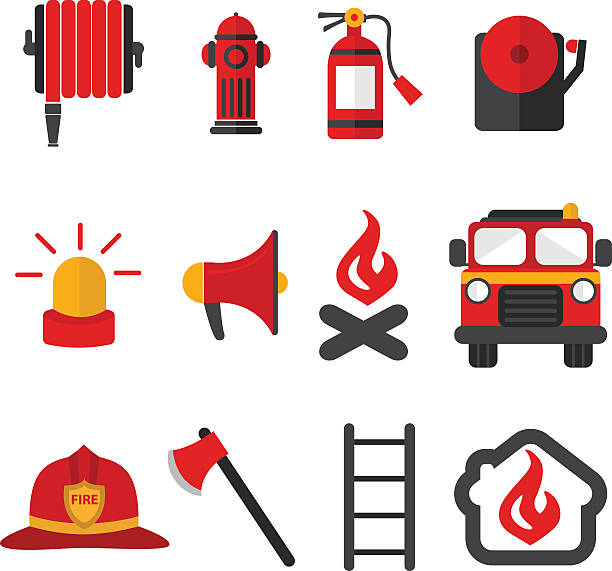 612x571 Fire Fighting Equipment Clipart