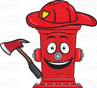 400x360 Firefighting Clipart