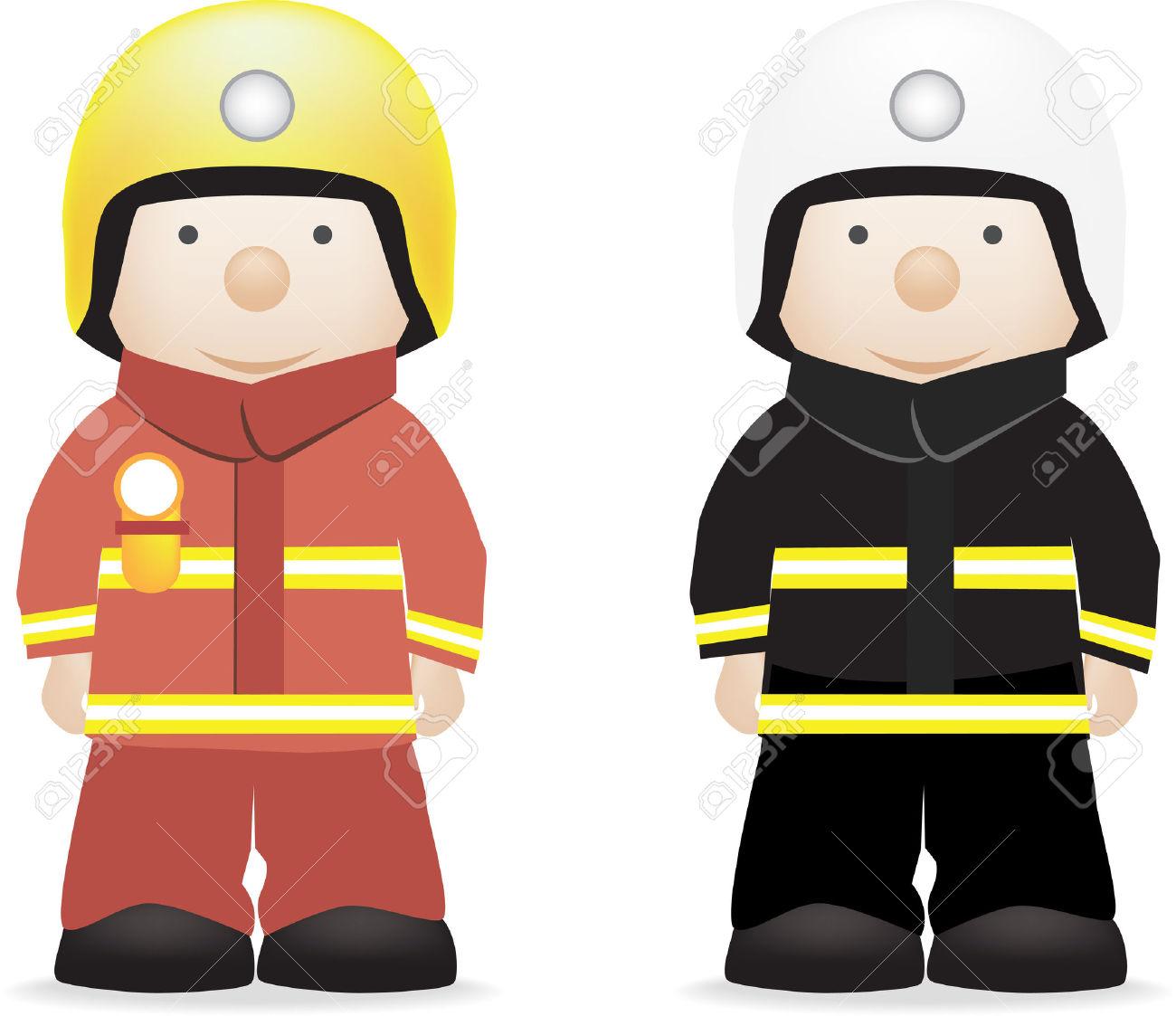 1300x1123 Fireman Clipart