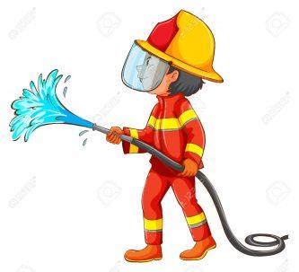 333x303 Fireman Clipart Clipartpen