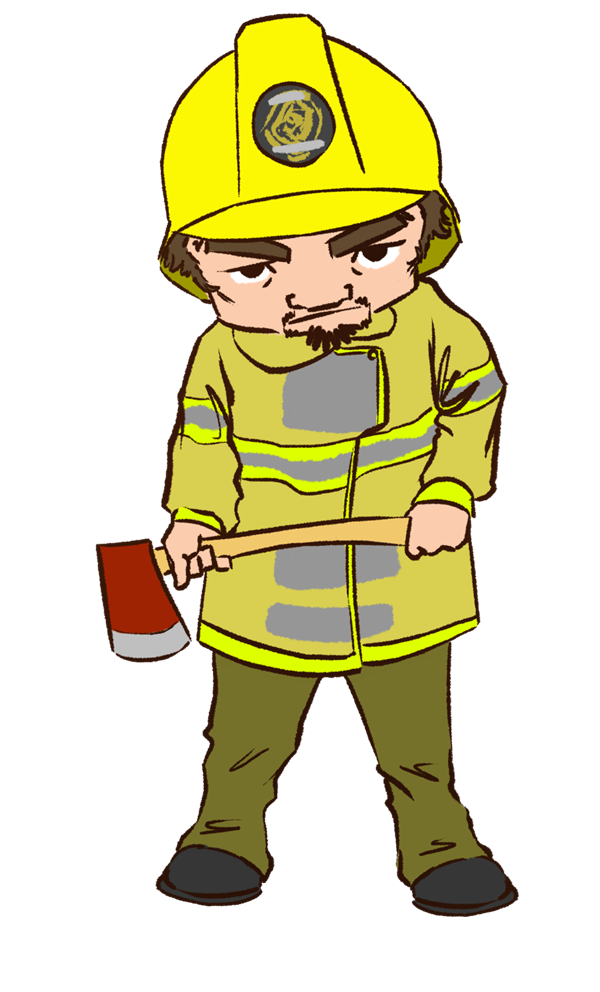 600x992 Fireman Cute Firefighter Clipart Free Images Image