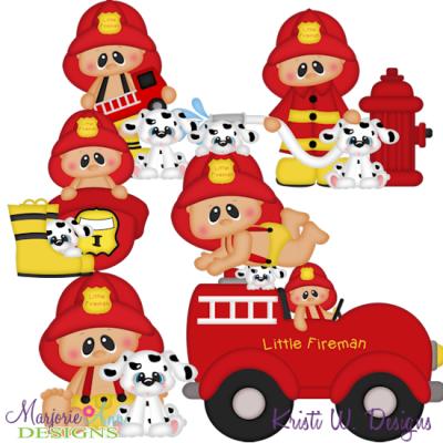 400x400 Fireman Santa Clipart Collection