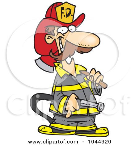 450x470 Cartoon Fireman Putting Out Fire Clipart Panda