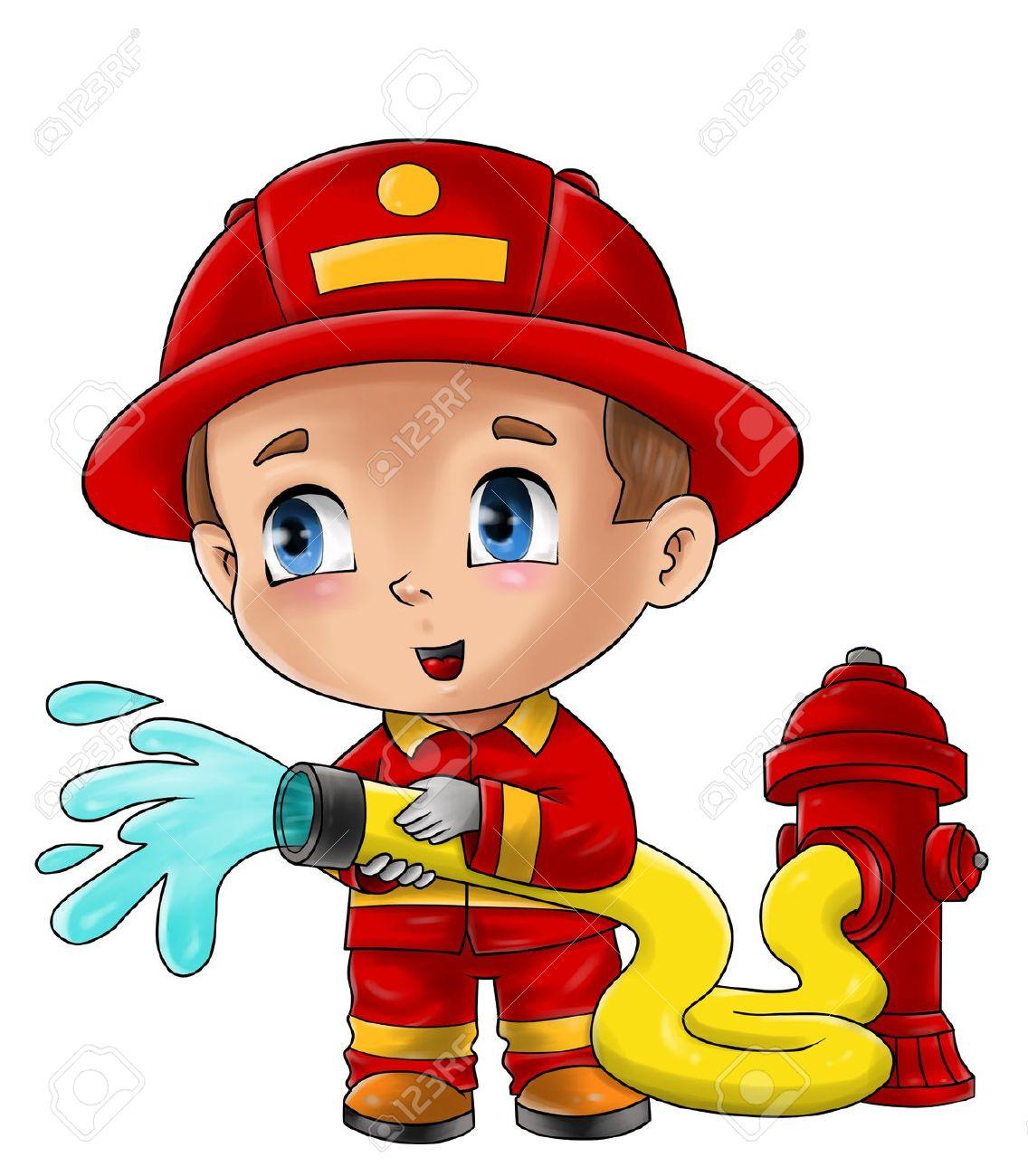 1136x1300 Firefighter Kids Clipart