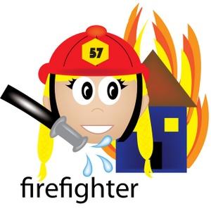 300x300 Firefighter Clip Art Fireman Clip Art Digital Firemen Clip Art 5