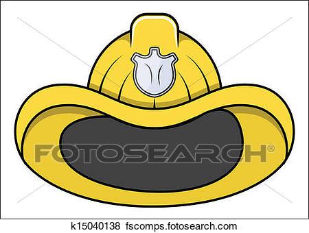 450x340 Clip Art Of Fireman Hat