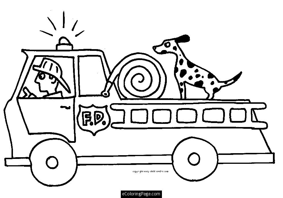 984x689 fire dog coloring page printables fire truck and fireman printable