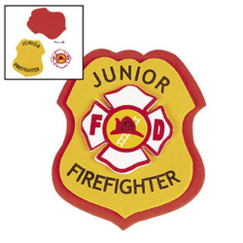 500x500 Firefighter Fireman Badge Diy (6) Firefighter Party
