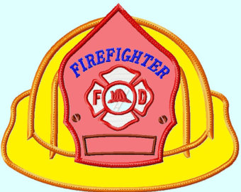 340x270 Fireman Hat Template
