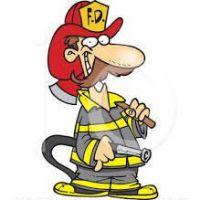 200x200 Fireman Clipart