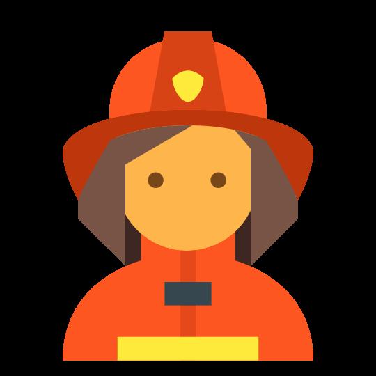 540x540 Fireman Female Icon