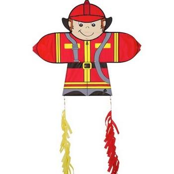 350x350 HQ Skymate Fireman Single Line Kite