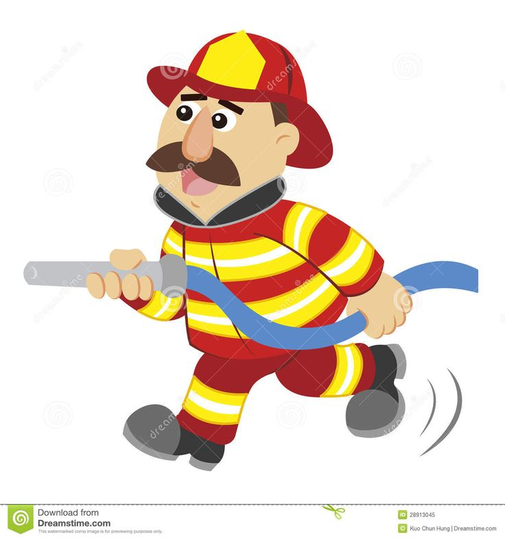 Firemen Cartoon