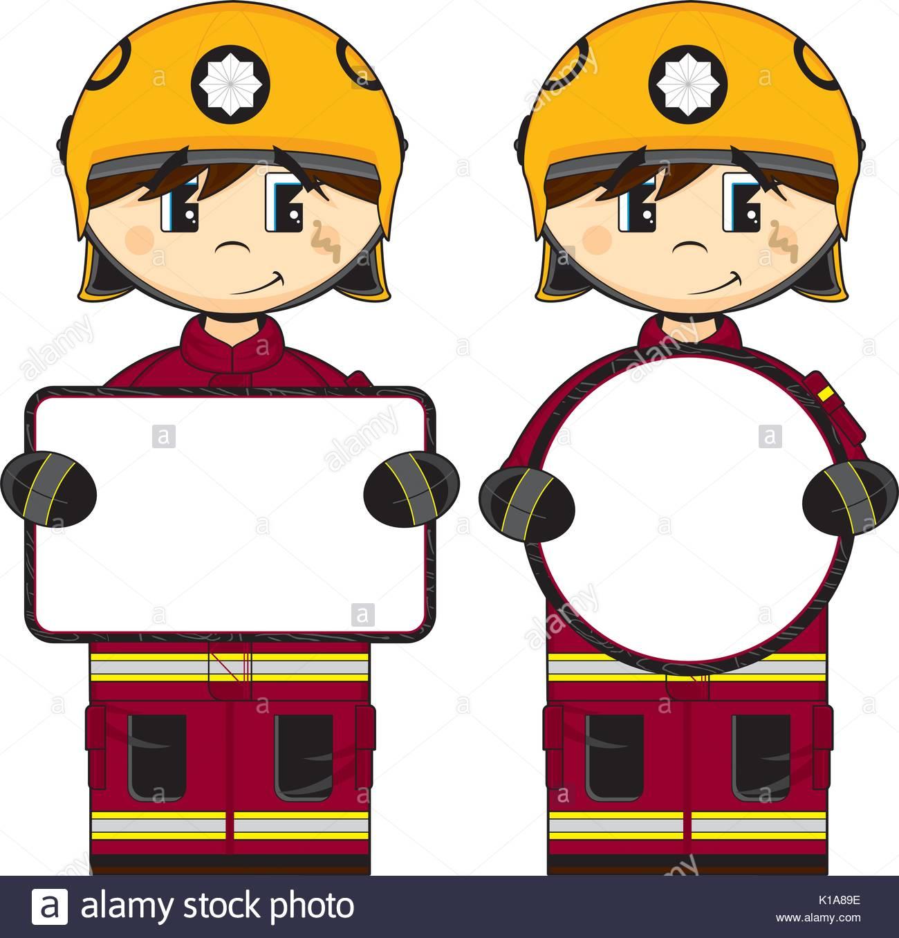 1300x1356 Cartoon Firefighter Stock Photos Amp Cartoon Firefighter Stock