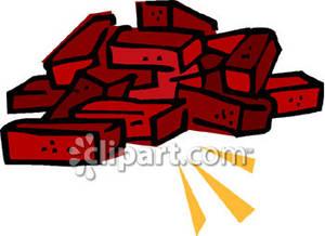 300x218 Brick Clipart Brick Fireplace