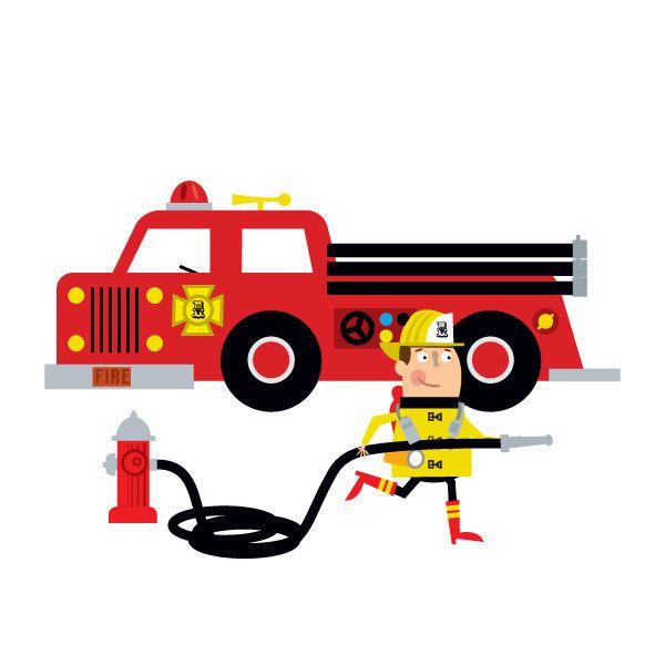 Firetruck Clipart Free