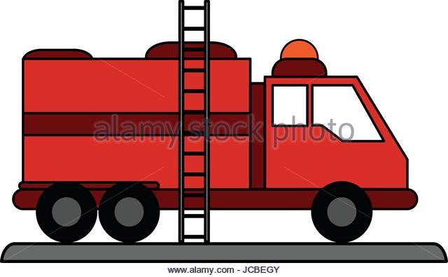 640x396 Vector Cartoon Fire Truck Stock Photos Amp Vector Cartoon Fire Truck