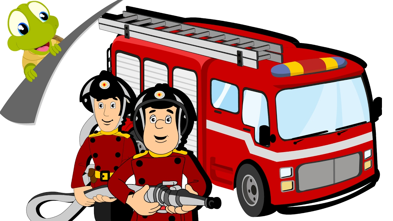 1280x720 Hurry Hurry Drive The Fire Truck Nursery Rhyme And Car Song