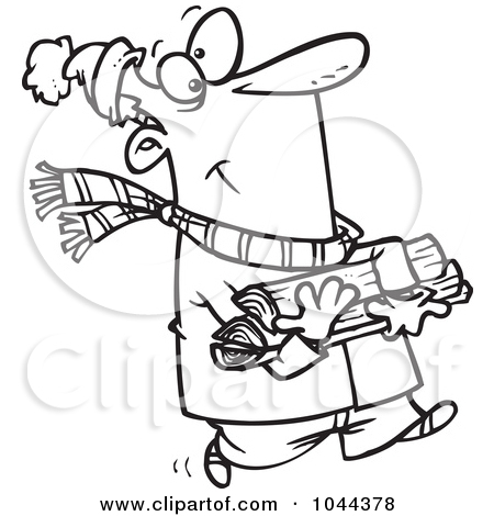 450x470 Firewood Black And White Clipart