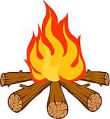 157x170 Firewood Clip Art