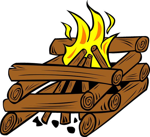 640x585 Firewood Clipart