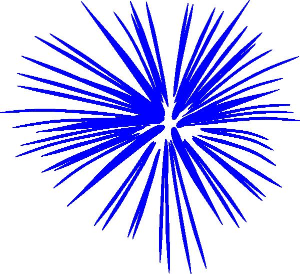 600x547 Cartoon Fireworks Clipart