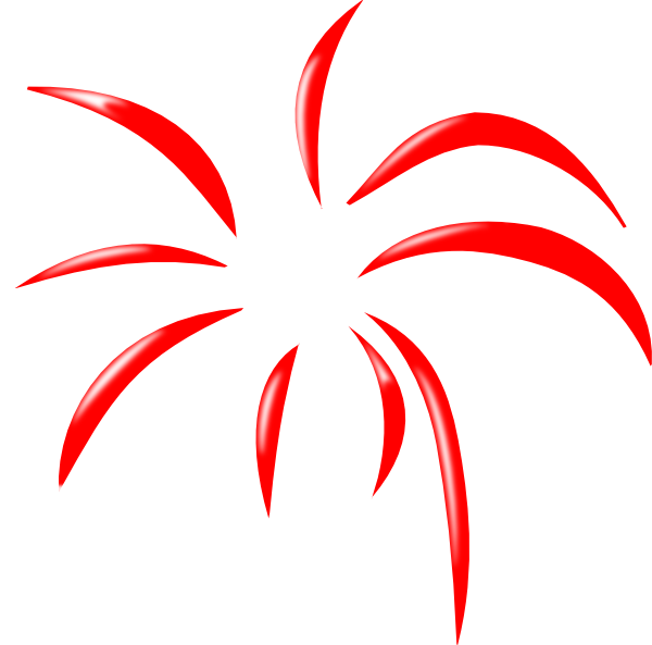 600x593 Animated Fireworks Moving Clipart Panda