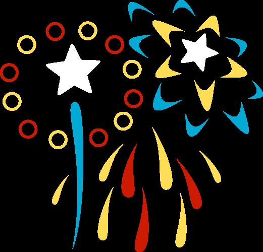 Fireworks Clipart Transparent