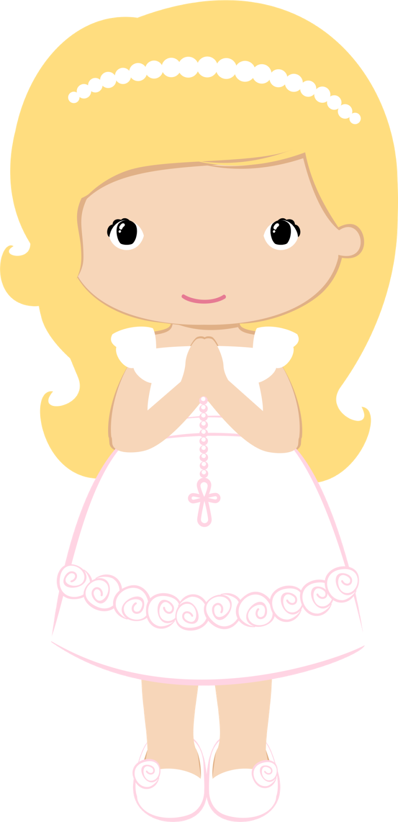 775x1600 Girls In Their First Communion Clip Art. Oh My First Communion!