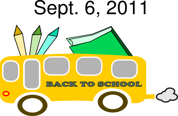 600x391 Back To School Clip Art