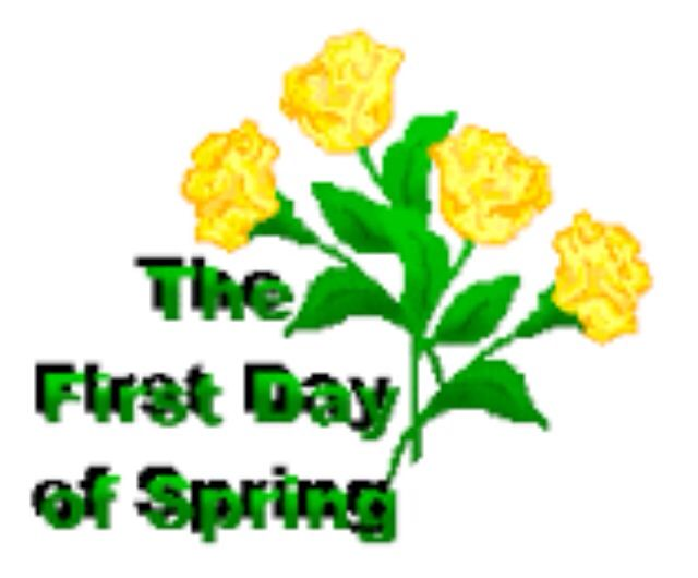 First Day Of Spring Clipart | Free download best First Day ...