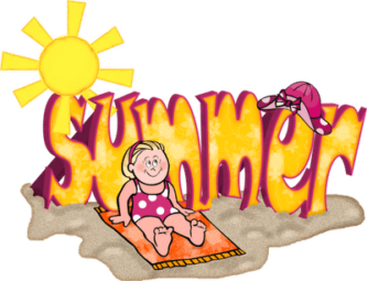 First Day Of Summer Clipart