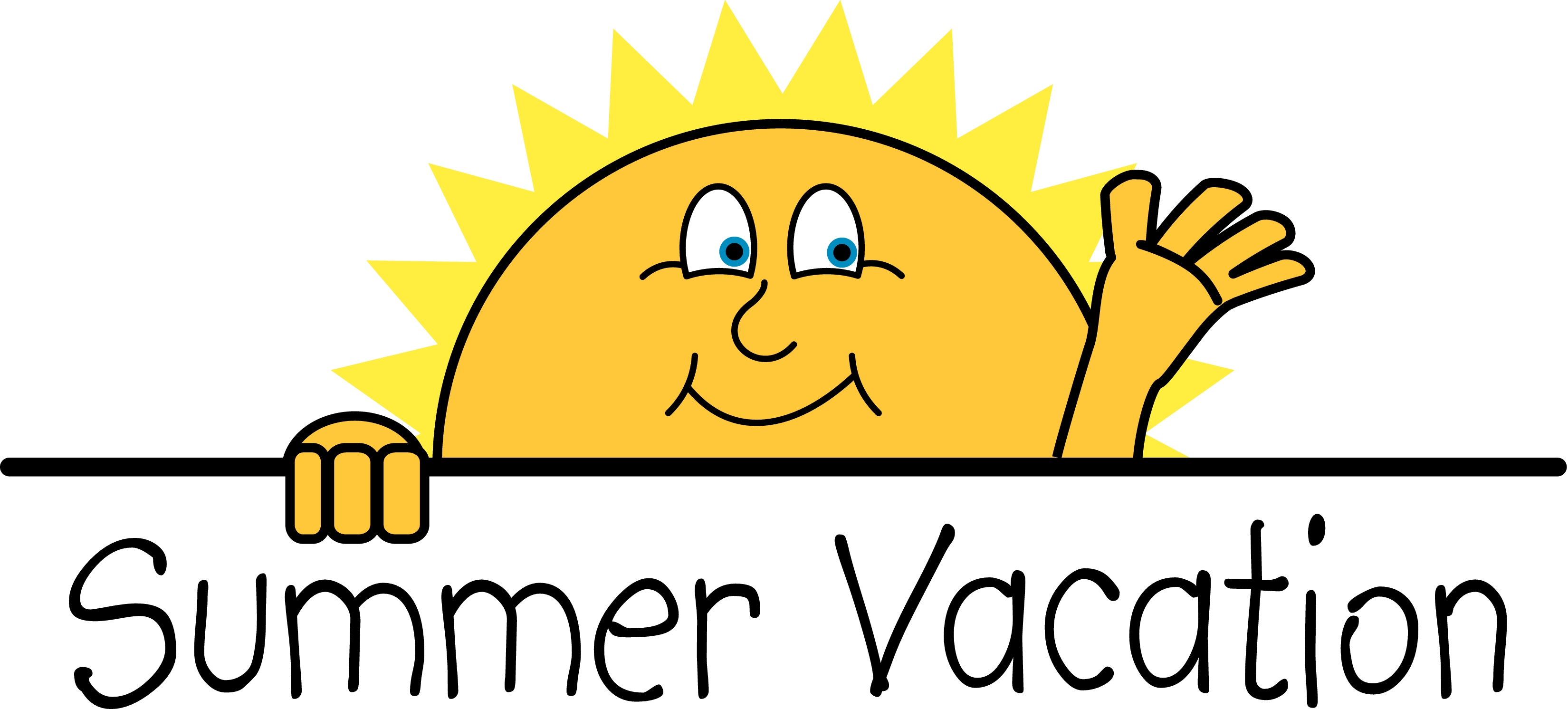 3300x1492 Free Clip art of First Day of Summer Clipart
