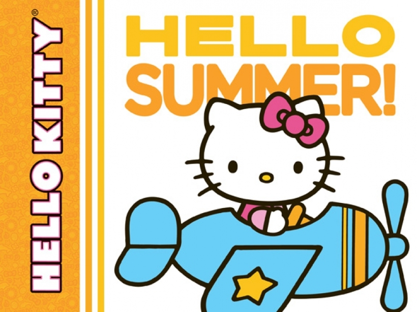 820x615 Summer clipart hello kitty