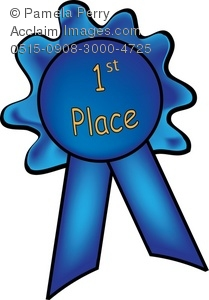 209x300 Art Illustration Of A First Place Blue Ribbon