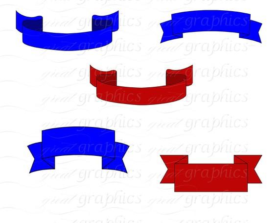 570x455 Banner Clip Art Banner Digital Clipart Award Ribbon Printable