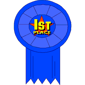 300x300 First Place Ribbon Clipart
