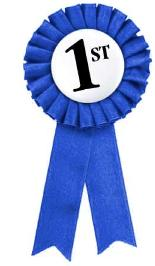 155x266 First Place Ribbon Clipart