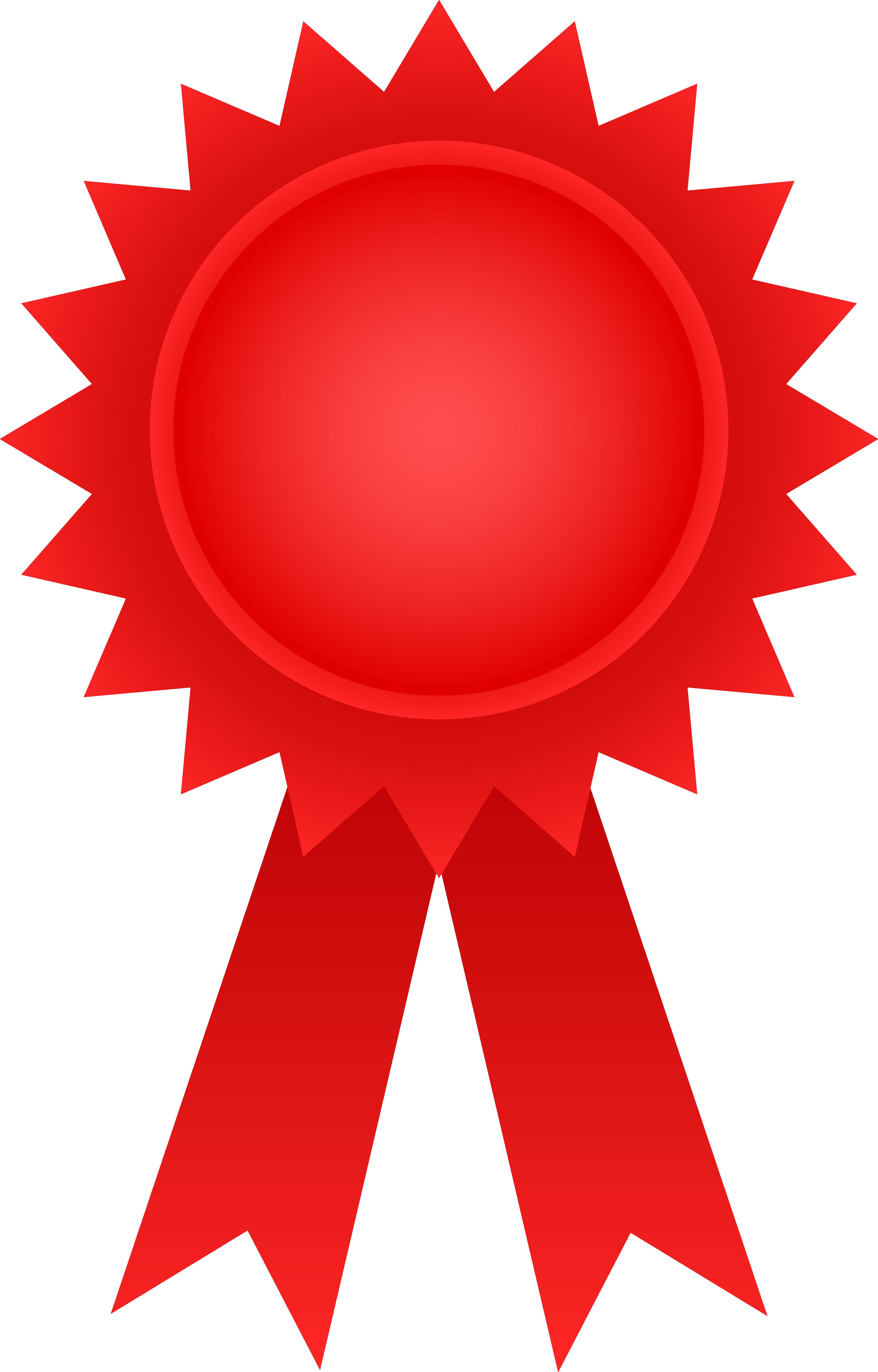 3717x5809 Red Award Ribbon