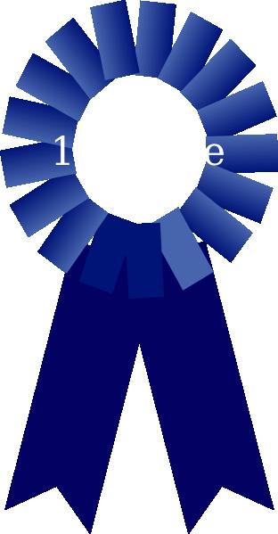 312x599 1st Place Ribbon Clip Art