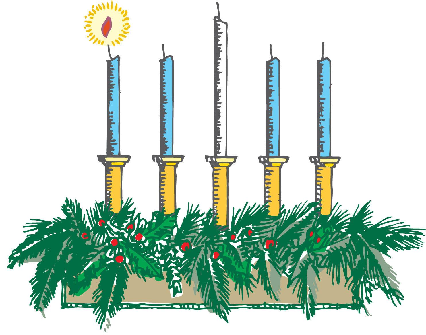1484x1168 Advent Wreath Clipart