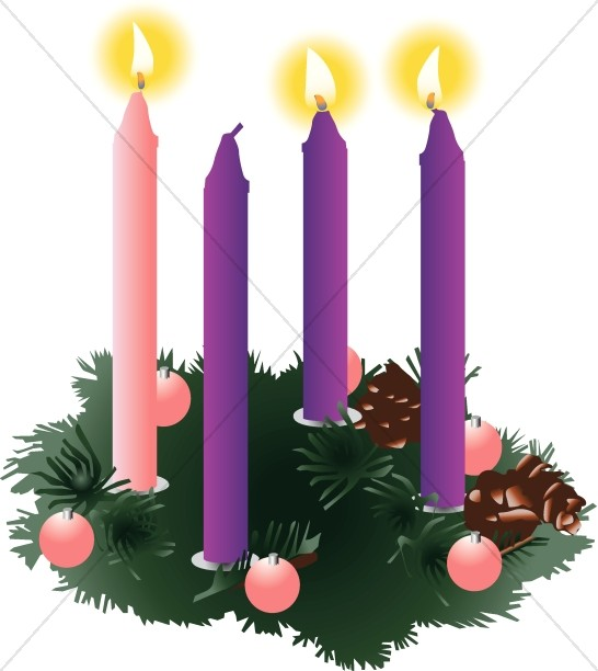 546x612 Christmas Advent Clip Art