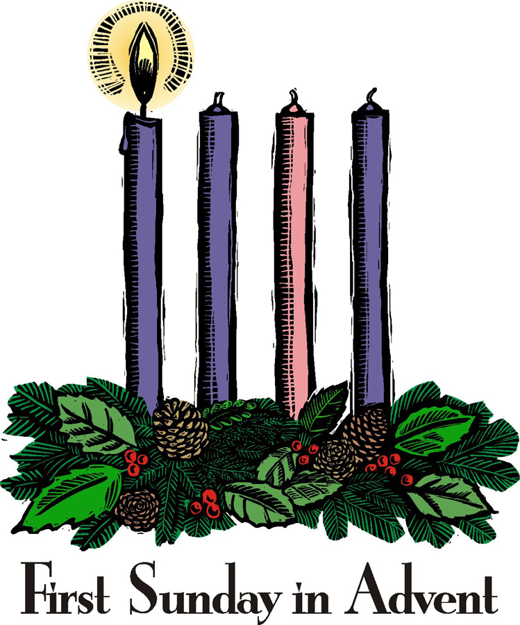 749x900 First Sunday Of Advent 2013 Clip Art