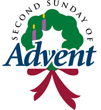 350x383 Second Sunday Of Advent Wreath Clipart