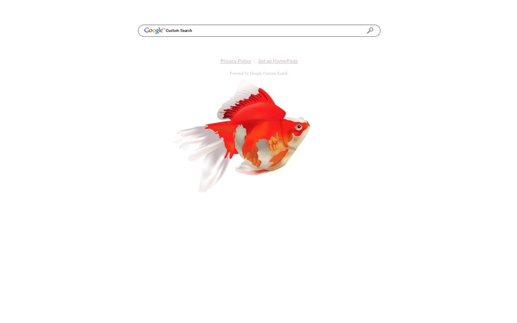 1024x640 Animated Fish Google Theme