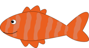 300x165 Cartoon Fish Clip Art