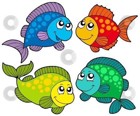 450x374 Cartoon Clipart Fish Free
