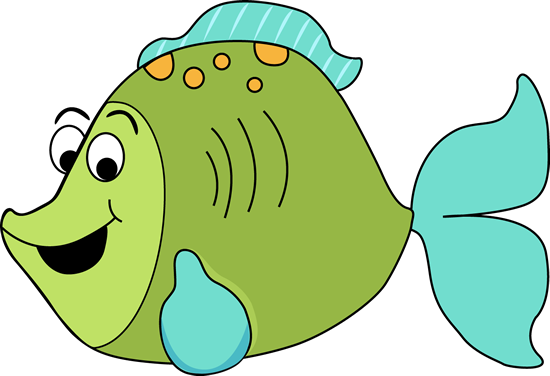 550x376 Fish Cartoon Clipart